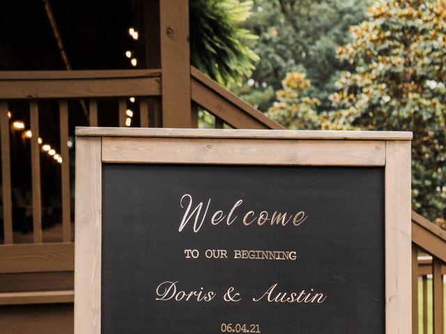 Doris and Austin's Wedding in Montgomery, Texas 10