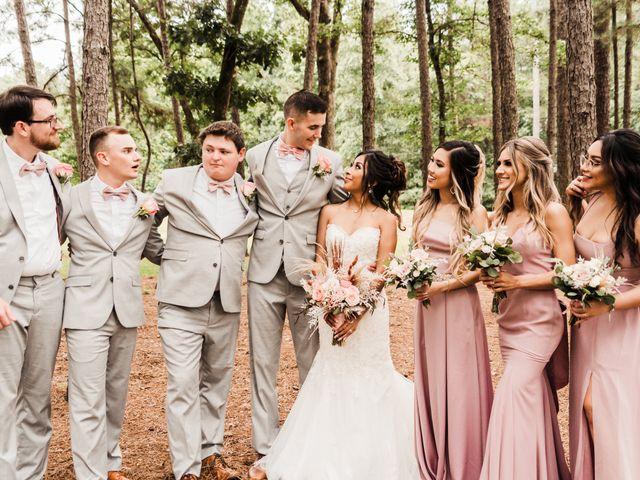 Doris and Austin's Wedding in Montgomery, Texas 16