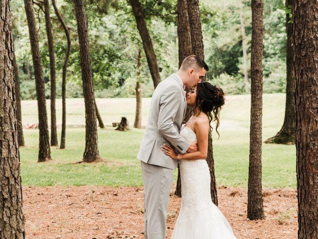 The wedding of Austin and Doris