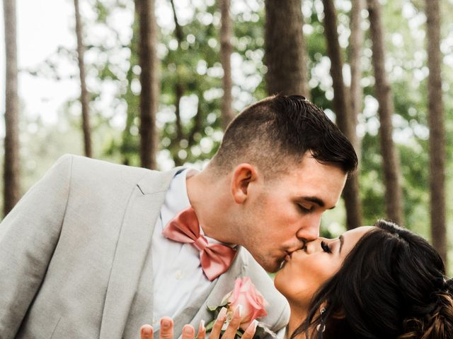 Doris and Austin's Wedding in Montgomery, Texas 20