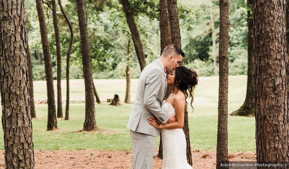 Doris and Austin's Wedding in Montgomery, Texas