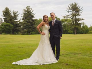 The wedding of Kaila and Brian