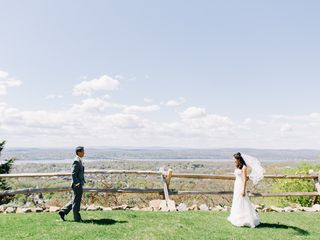 Yukari and Tim's Wedding in Garrison, New York 3