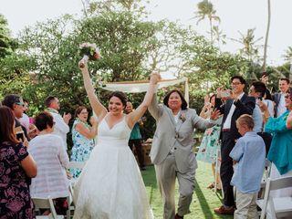 The wedding of Amy and Sarah