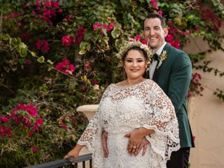The wedding of Maria Fernanda and Kevin