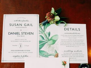 The wedding of Susan and Daniel 1
