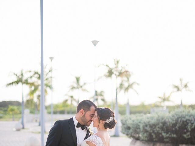 The wedding of Nattasha and Miguel