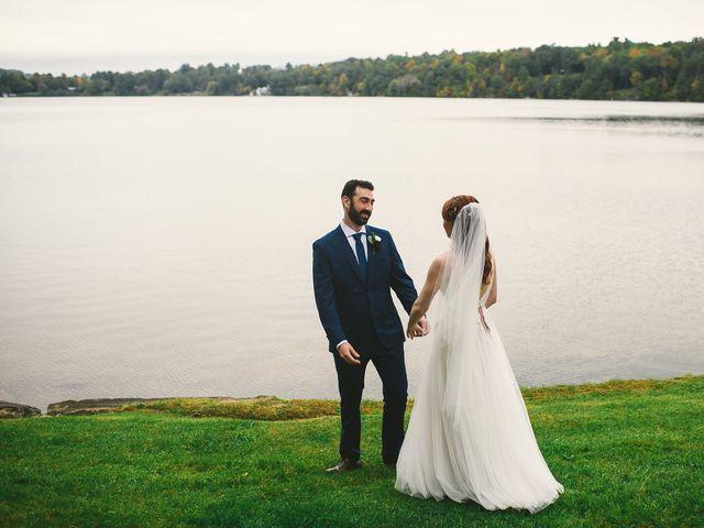The wedding of Georgia and Dan