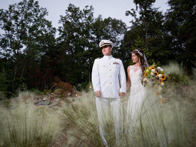 Benjamin and Kayley's Wedding in Sunset, South Carolina 1