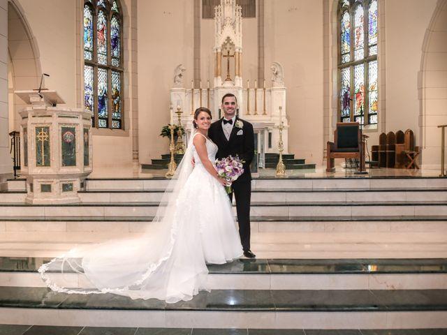 The wedding of Katrina and Jim