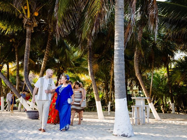 Alex and Hilde's Wedding in Cancun, Mexico 23