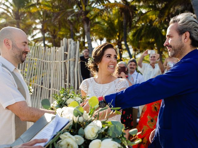 Alex and Hilde's Wedding in Cancun, Mexico 27