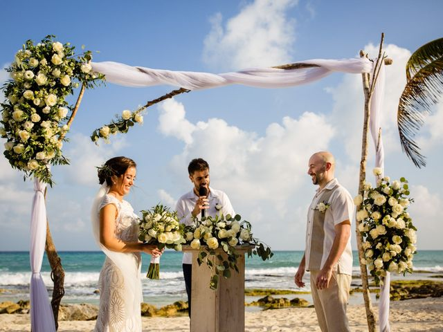 Alex and Hilde's Wedding in Cancun, Mexico 28