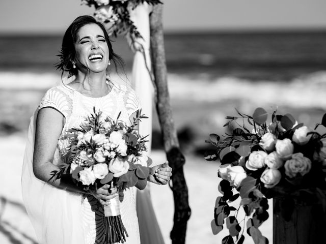 Alex and Hilde's Wedding in Cancun, Mexico 29