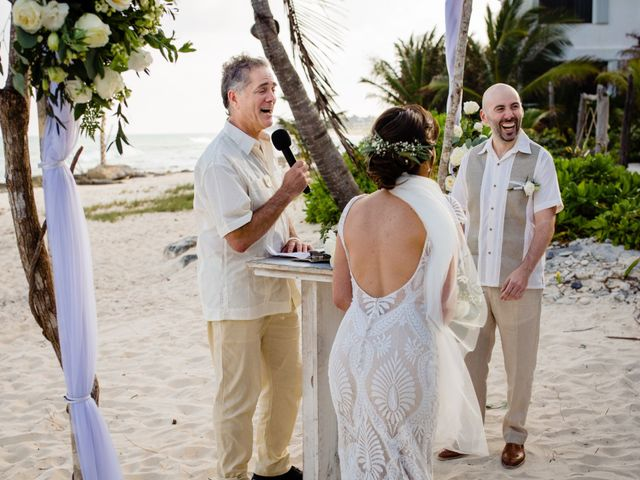 Alex and Hilde's Wedding in Cancun, Mexico 34