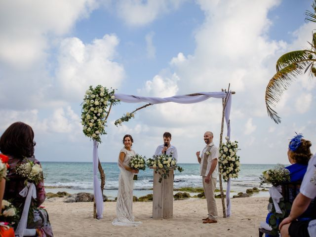 Alex and Hilde's Wedding in Cancun, Mexico 35
