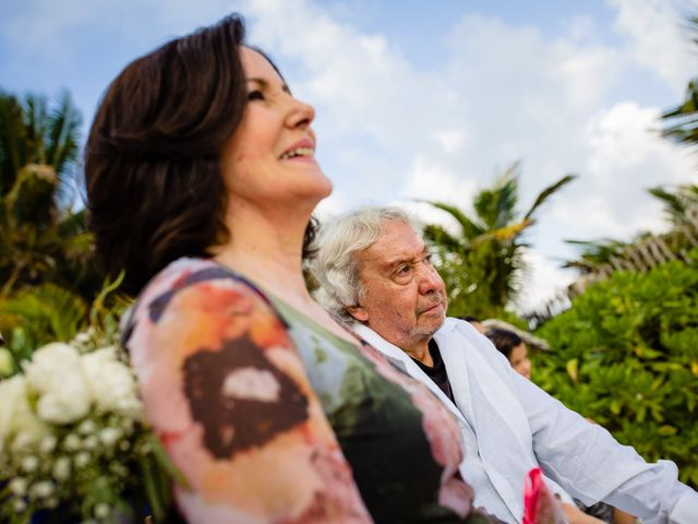 Alex and Hilde's Wedding in Cancun, Mexico 37