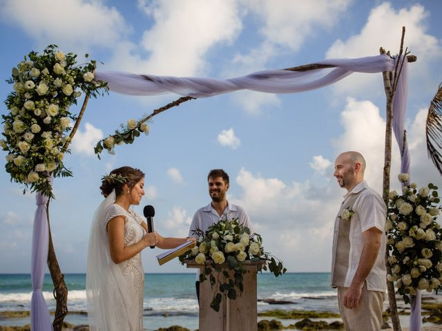 Alex and Hilde's Wedding in Cancun, Mexico 38