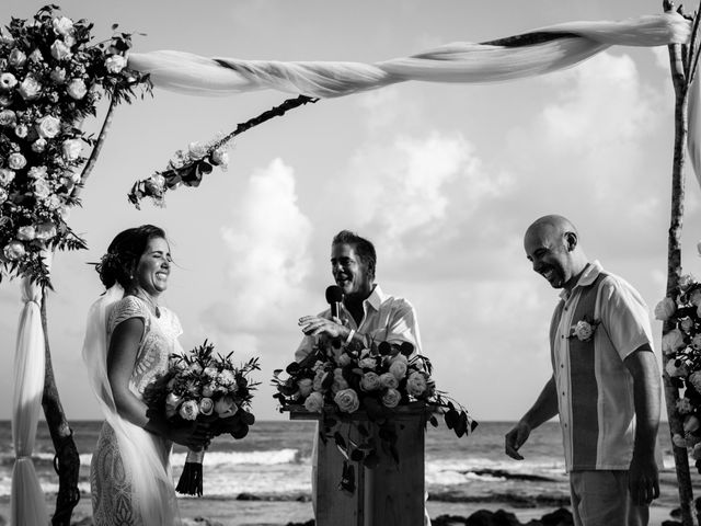 Alex and Hilde's Wedding in Cancun, Mexico 39