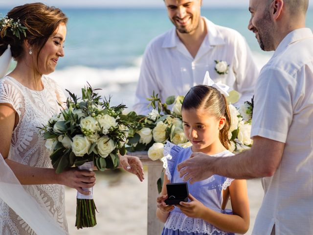Alex and Hilde's Wedding in Cancun, Mexico 40