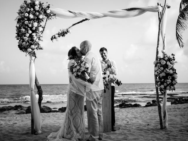 Alex and Hilde's Wedding in Cancun, Mexico 42