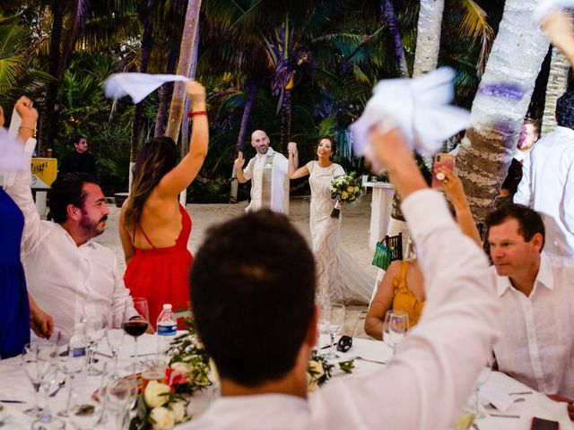 Alex and Hilde's Wedding in Cancun, Mexico 52