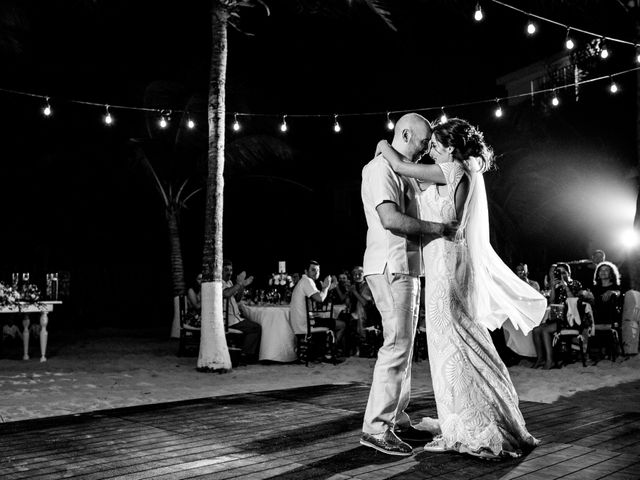 Alex and Hilde's Wedding in Cancun, Mexico 54