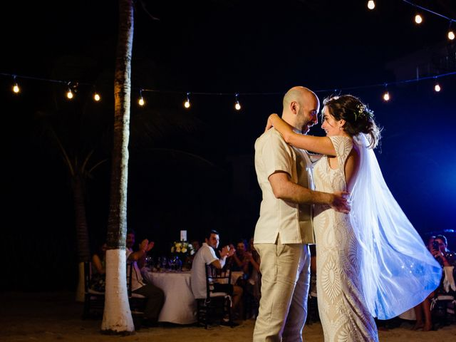 Alex and Hilde's Wedding in Cancun, Mexico 55