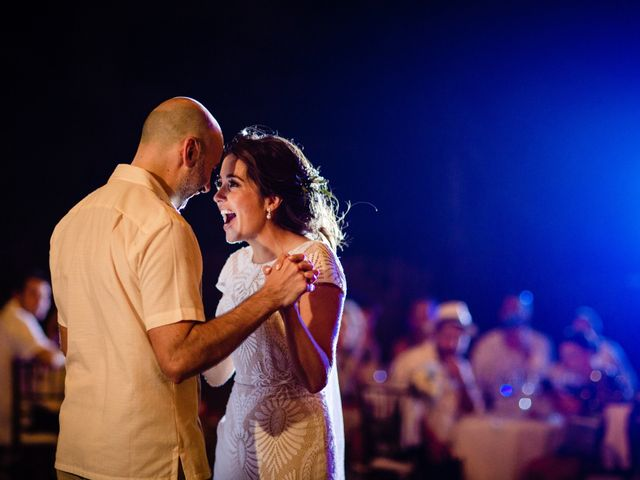 Alex and Hilde's Wedding in Cancun, Mexico 56