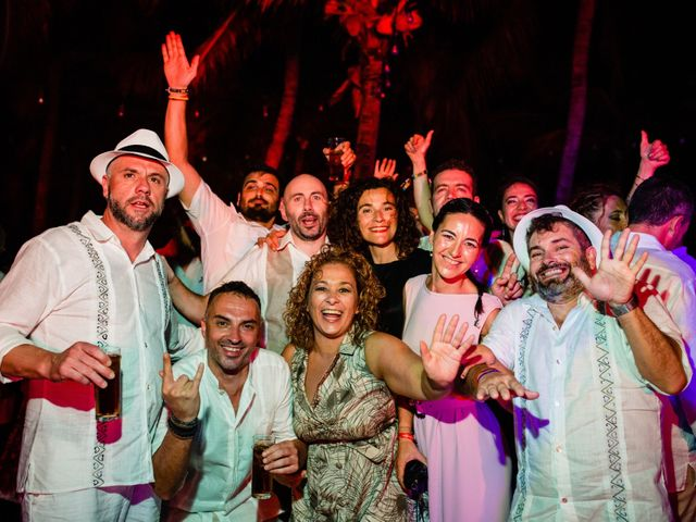 Alex and Hilde's Wedding in Cancun, Mexico 57
