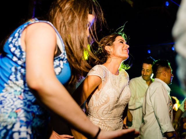 Alex and Hilde's Wedding in Cancun, Mexico 64