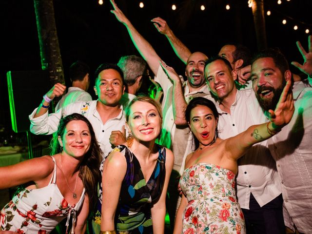 Alex and Hilde's Wedding in Cancun, Mexico 66