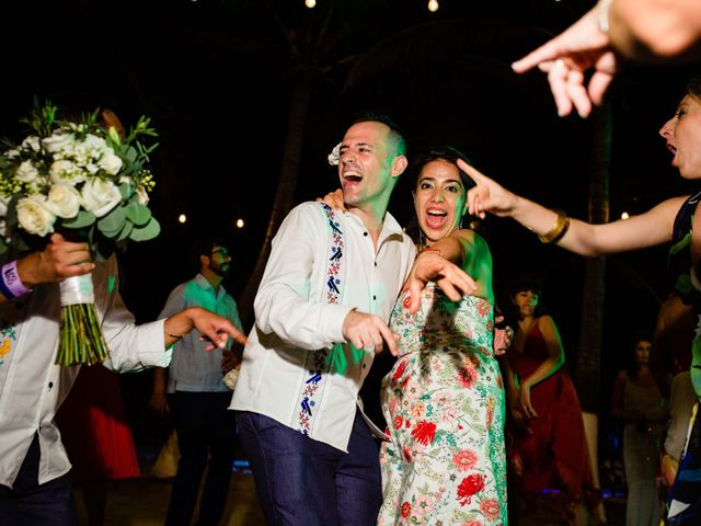 Alex and Hilde's Wedding in Cancun, Mexico 69