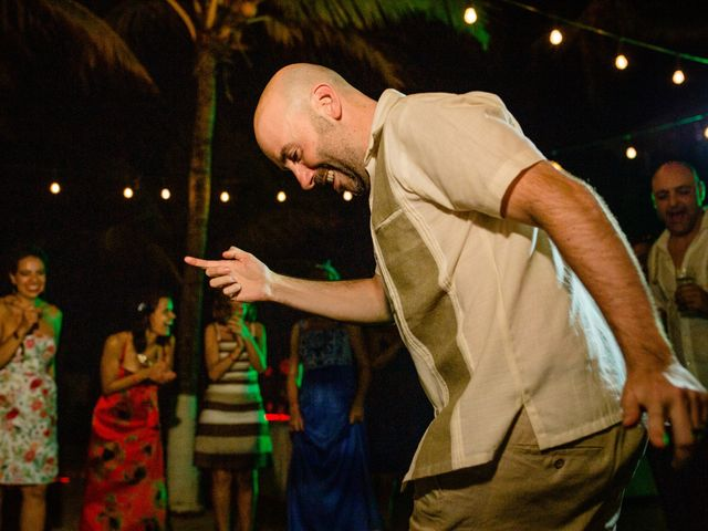 Alex and Hilde's Wedding in Cancun, Mexico 70