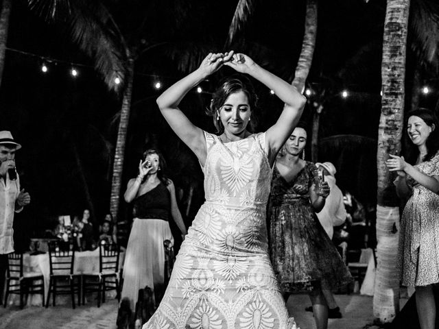 Alex and Hilde's Wedding in Cancun, Mexico 75