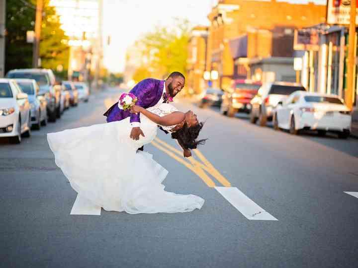 The wedding of Reginald and Kolesha