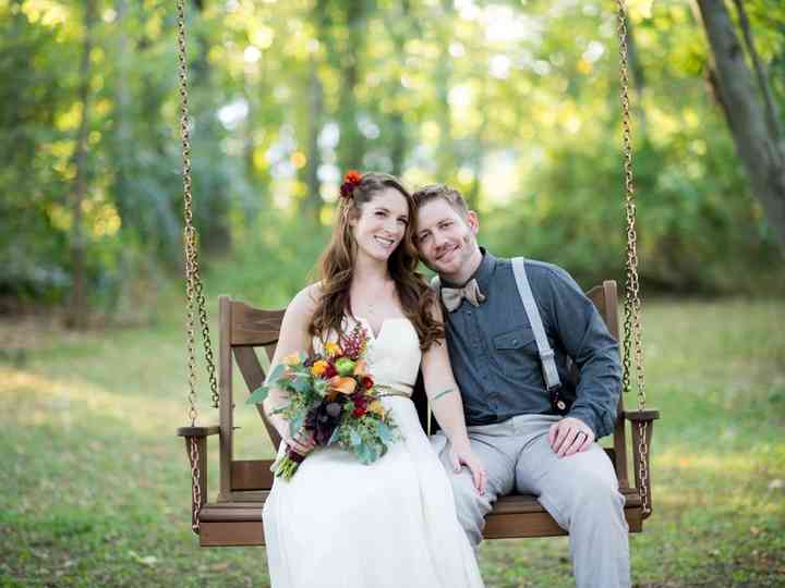 The wedding of Ben and Katie