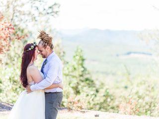 The wedding of Brandi and Wesley