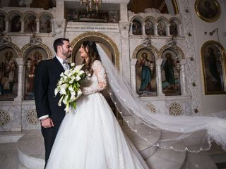 The wedding of Maria and Steven