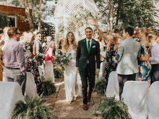 The wedding of Sarah Kiley and Ben Saver