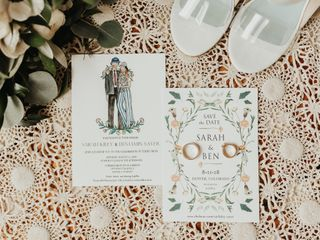 The wedding of Sarah Kiley and Ben Saver 2