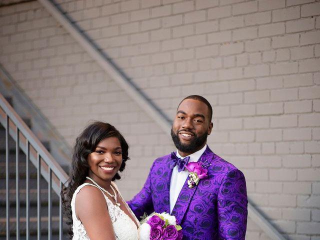 Kolesha and Reginald's Wedding in Little Rock, Arkansas 1