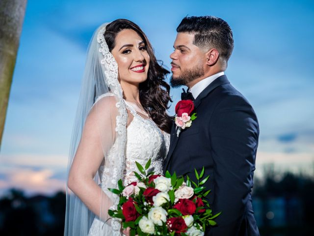 The wedding of Beatriz and Hiram