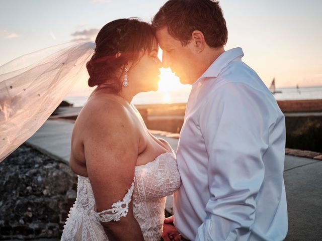 Jim and Christin's Wedding in Key West, Florida 17