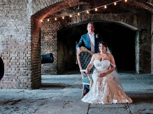 The wedding of Christin and Jim