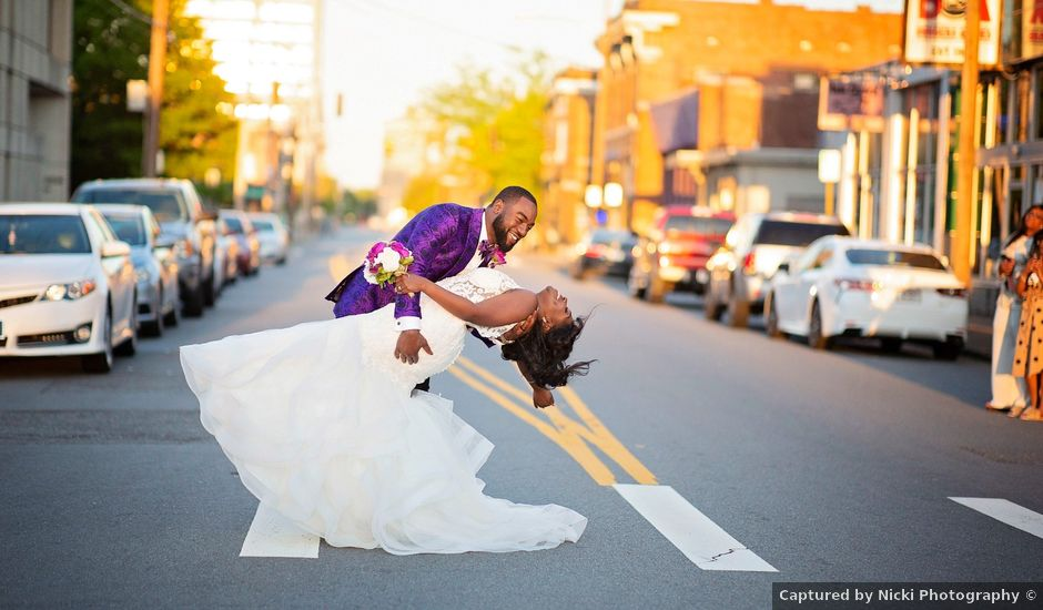 Kolesha and Reginald's Wedding in Little Rock, Arkansas