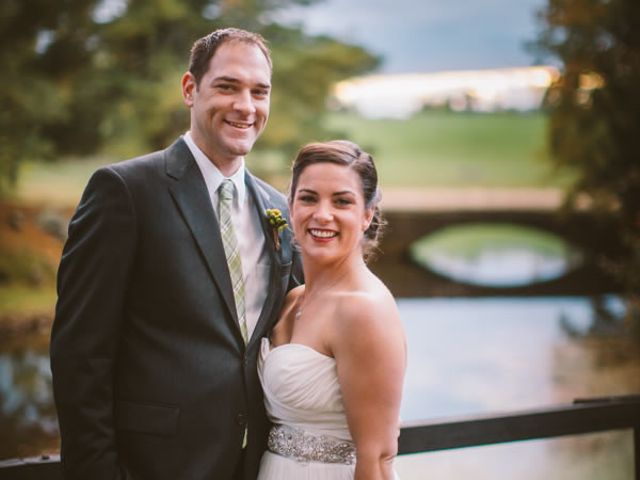 The wedding of Matt and Christy