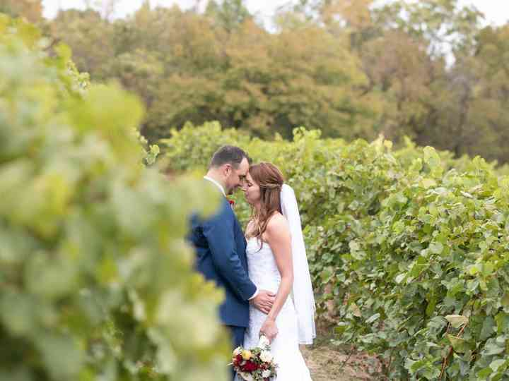 The wedding of Cheryl and Ryan