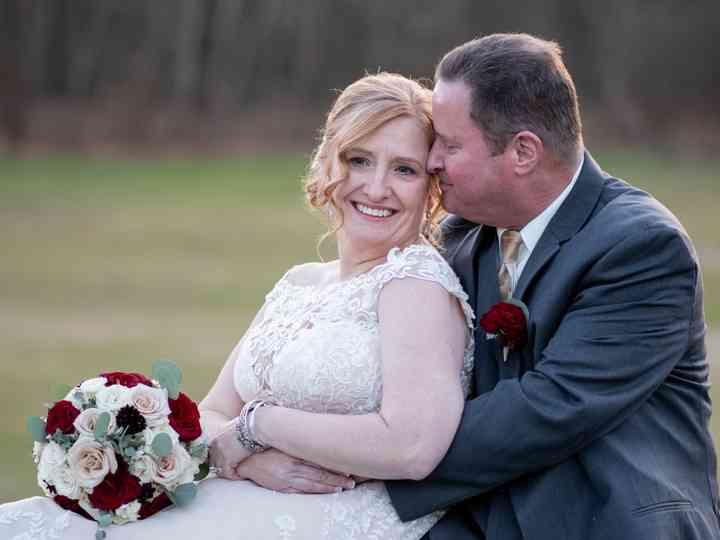 The wedding of Waye and Kim
