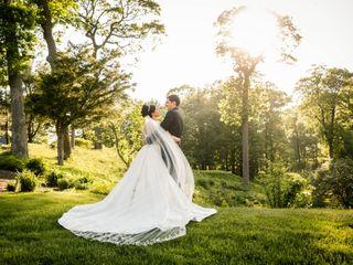 The wedding of Elena and Stephen